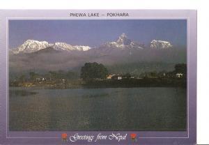 Postal 048877 : Phewa Lake - Pokhara. Nepal