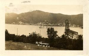 U. S. Virgin Islands - St. Thomas - RPPC