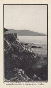 DEL MONTE, California, 1900-1910s; Raymond-Whitcomb Land Cruises, 17-mile Drive