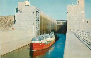 Lock at McNary Dam Columbia River Umatilla Oregon OR & WA