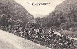 OAKLAND, Maryland, 1910-20s; The Gap, Alleghany Maountains