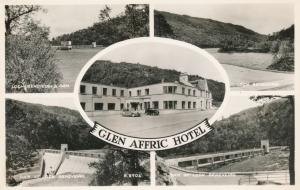 RPPC Glen Affric Hotel and Loch Beneveian - Scotland, United Kingdom