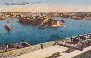 View of Grand Harbour, Taken from Upper Baracca, Valletta, Malta, 00-10s