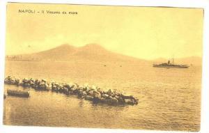 NAPOLI, Il Vesuvio da mare, Campania, Italy, 00-10s
