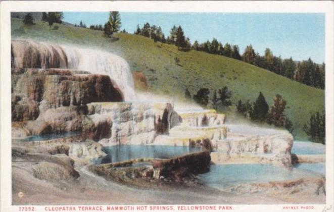 Cleopatra Terrace Mammoth Hot Springs Yellowstone National Park