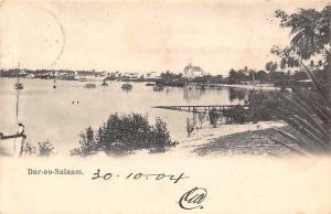 German East Africa Tanzania, Dar-es-Salaam Boote Boats 1904