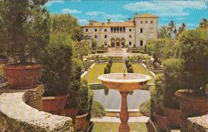 Florida Miami Vizcaya The James Deering Estate The Formal Garden