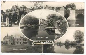 RP,Huntingdon,England,UK, 1960,5 Views:All Saint's Church,The Bridge,Hinching...