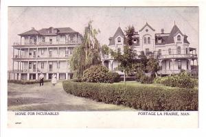 Home for Incurables, Hospital, Portage La Prairie, Manitoba, Warwick,