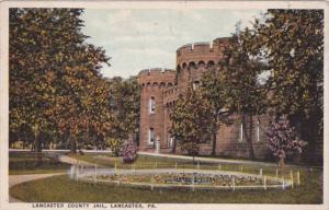Pennsylvania Lancaster County Jail 1923