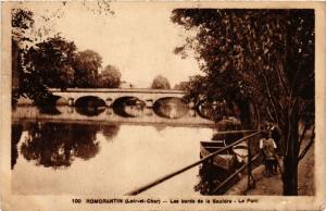 CPA Romorantin (Loir et Cher) - Les bords de la Sauldre - Le Pont (740919)