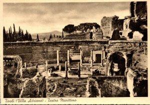 Italy Tivoli Villa Adriana Teatro Marittimo