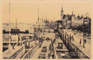 Belgium Anvers Le Steen et le Port