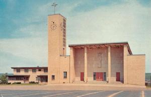 Ely Minnesota St Antony De Padua Street View Vintage Postcard K72410