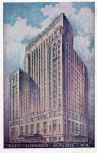 USA Hotel Schroeder Milwaukee Wisconsin 01.57