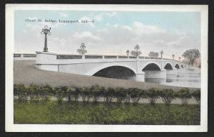 Cicott Street Bridge Logansport Indiana c1920s