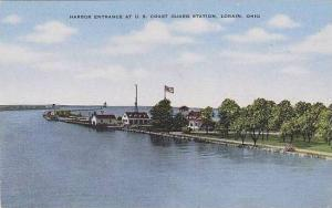 Ohio Lorian Harbor Entrance At U S Coast Guard Station