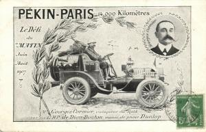 china, PEKING - PARIS Automobile Race of Le Matin (1907) Georges Cormier
