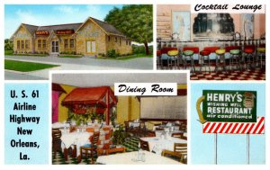 Louisiana New Orleans Henry's Wishing Well Restaurant