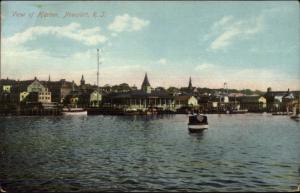 Newport RI Harbor Scene c1910 Postcard #4