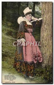 Britain - Folklore - Costumes - Botrel - Old Postcard