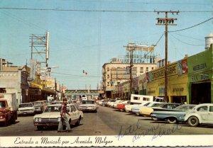 Mexico Entrada a Mexicali por Avenida Melgar