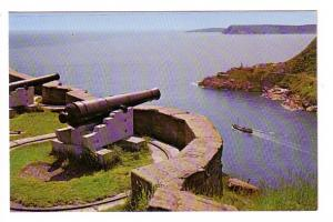 Queen's Battery, Cannons, Signal Hill, St John's Newfoundland, Photo Tooton's