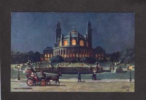France Paris Le Trocadero Tuck Oilette Carte Postale Postcard Series 111, No 73