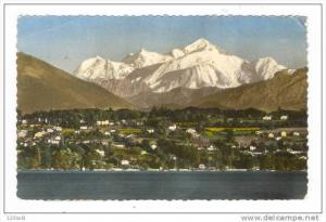 Switzerland Geneva - Le Mont-Blanc vu de Geneve pu1961