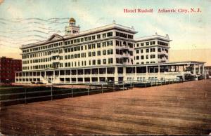 New Jersey Atlantic City Hotel Rudolf 1912