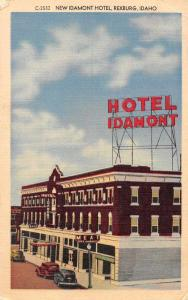 Rexburg Idaho New Idamont Hotel Antique Postcard J59315