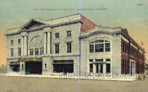 New Bowersock Theatre Lawrence, KS, USA Postcard Post Cards Old Vintage Antiq...