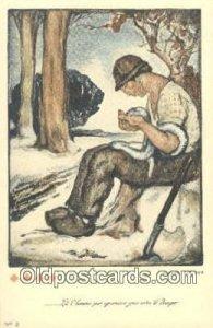 Artist Allard L'Olivier, Red Cross Unused