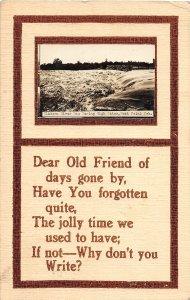 F97/ West Point Nebraska RPPC Postcard c1910 Elkhorn River Flood 20