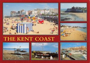 Postcard The Kent Coast, Multi View by J. Salmon Ltd I52