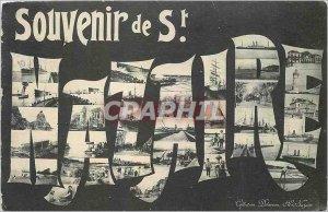 Old Postcard Remembrance St Nazaire