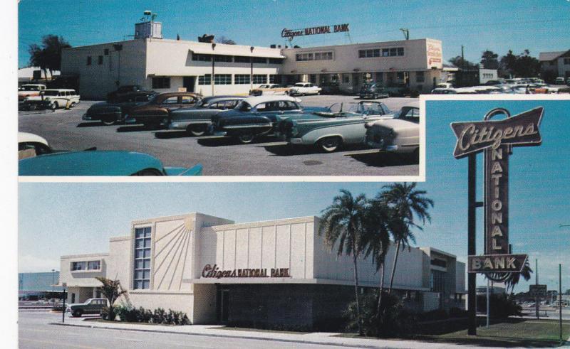 2-Views, Citizens National Bank, ST. PETERSBURG, Florida, 1940-1960s