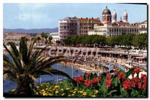 Old Postcard The French Riviera Saint Raphael Var Beach