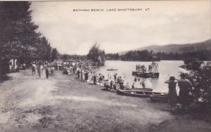 Bathing Beach Lake Shaftsbury Vermont Artvue