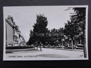 Kent MARGATE CLIFTONVILLE Surrey Road corner of Cumberland & Warwick Old RP PC