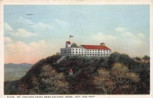 Mt. Holyoke Hotel Near Holyoke, Mass., Postcard, Used in 1930,  Detroit Pub. Co.