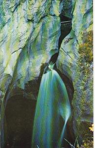 Canada Alberta Jasper Park Maligne Canyon