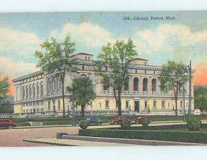 Unused Linen LIBRARY SCENE Detroit Michigan MI hs2217-12