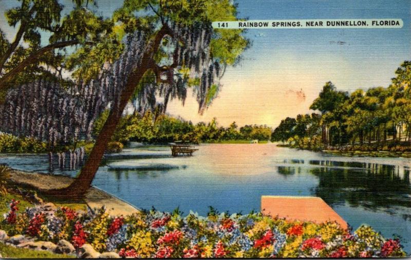 Florida Dunnellon Rainbow Springs 1940