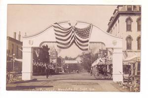 Real Photo Fall Festival 1910, Mendota. Illinois