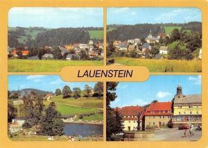 Lauenstein Teilansicht, Freibad Falknerbrunnen am Markt Panorama Auto