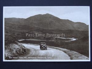 Scotland Stirlingshire ABERFOYLE The Trossachs Road c1932 Postcard by Valentine