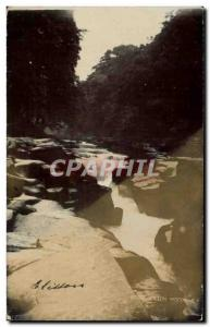 PHOTO CARD Strid Bolton Woods