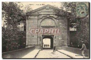 Toul Gate Metz - Old Postcard