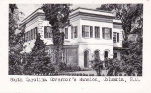 RP: COLUMBIA , South Carolina , 1940s ; Governor's Mansion